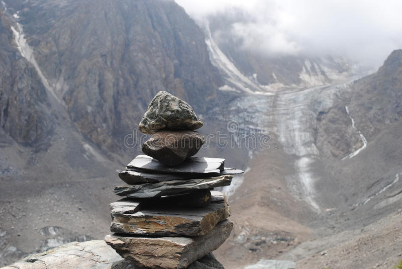 Glacier Akturu images libres de droits