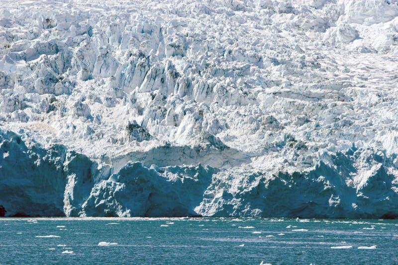 Glacier in Alaska royalty free stock photography