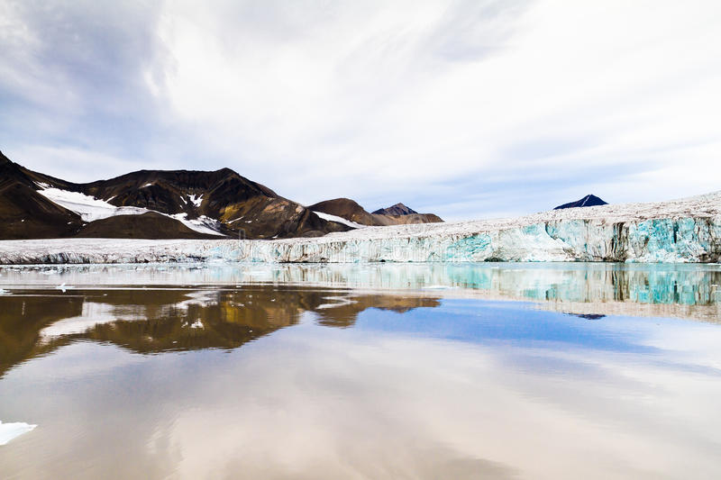 Download Glacier in arctic region stock image. Image of mountains - 25872583
