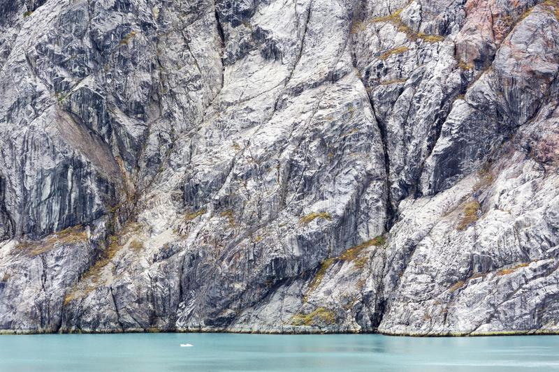 Glacier Bay Autumn Rocks royalty free stock image