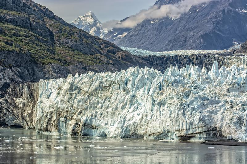 Glacier Bay Ice Field stock photo