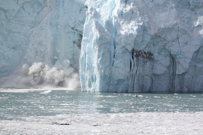 Glacier Calving Boom stock photos