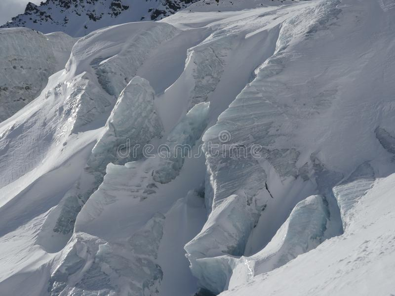 Glacier close-up stock image