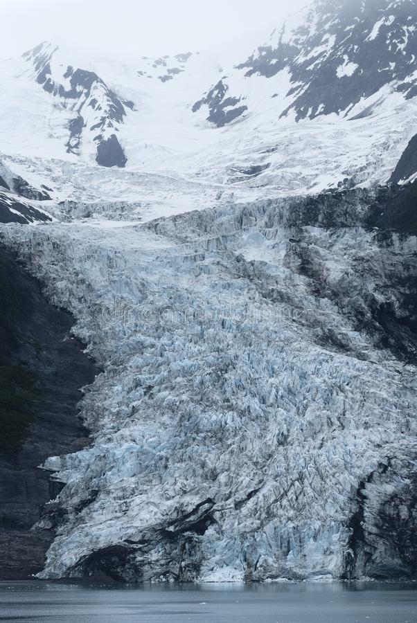 Glacier At College Fjord, Prince William Sound, Alaska.  stock image