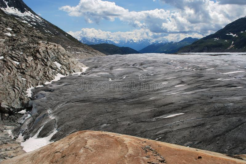 Glacier d'Aletsch images stock
