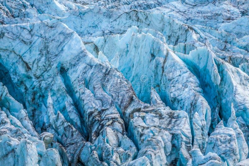 Glacier d'Argentiere en Chamonix Alps, Mont Blanc Massif, France image libre de droits