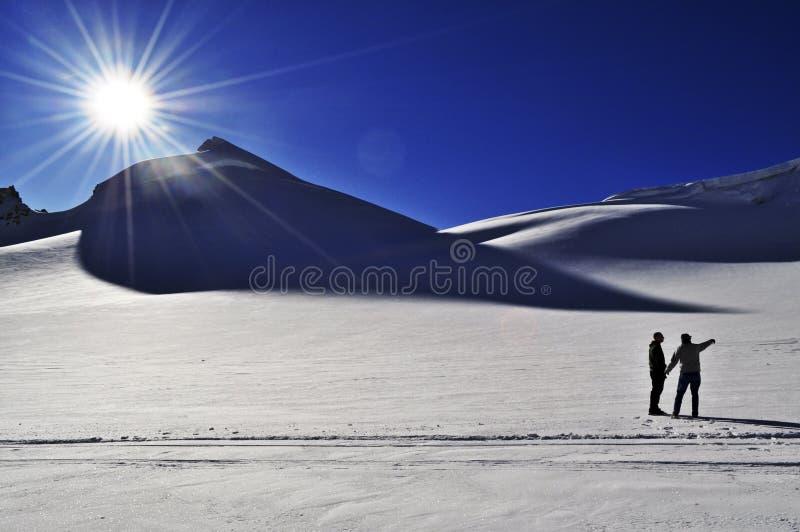 Glacier d'Eldridge image stock