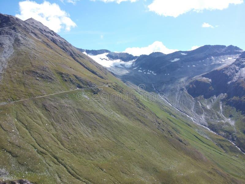 Glacier dans les Alpes suisses photo stock