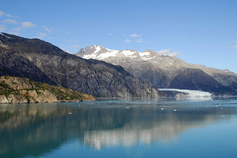glacier de compartiment images stock