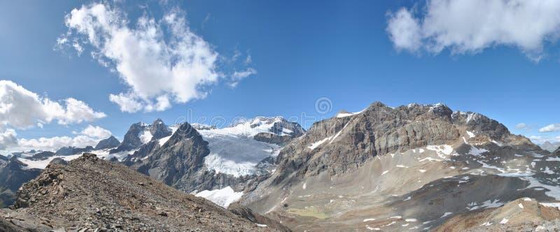 Glacier de Fellaria images stock