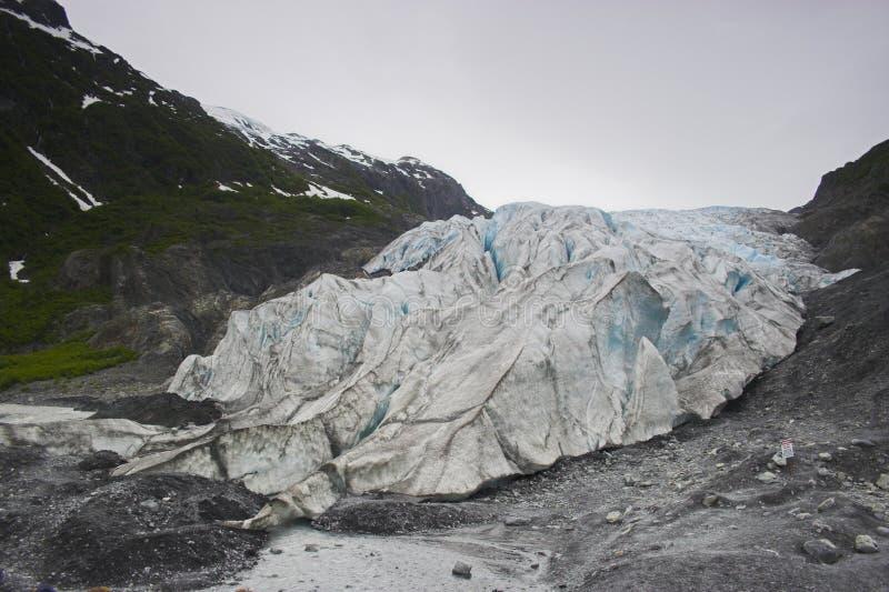 Glacier de fjord de Kenai images stock