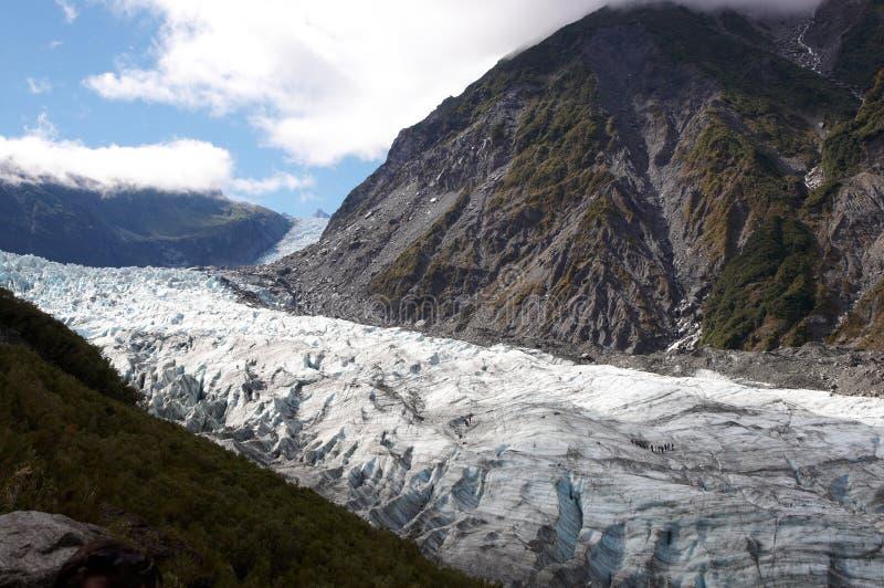 Glacier de Fox images libres de droits