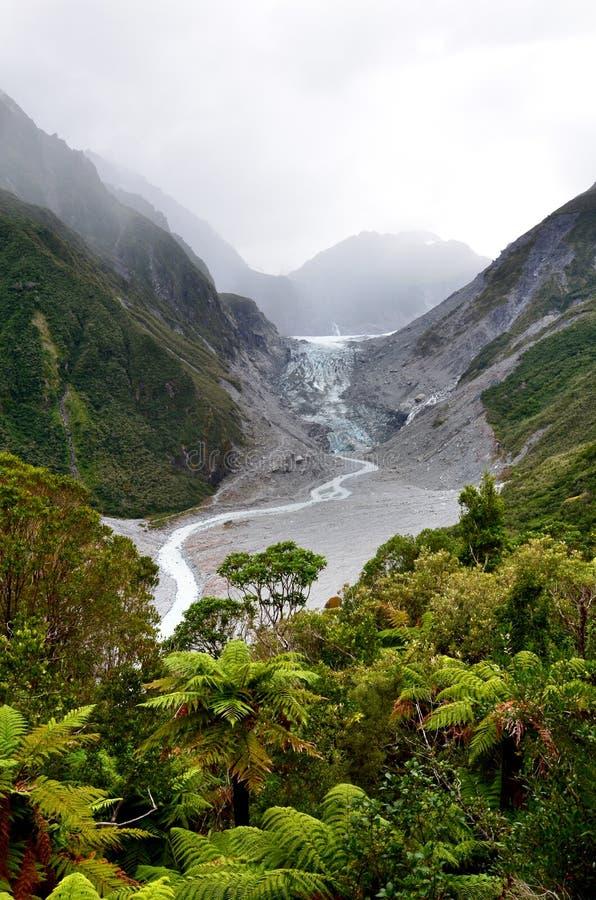 Download Glacier de Fox image stock. Image du dégel, hausse, shields - 76085061