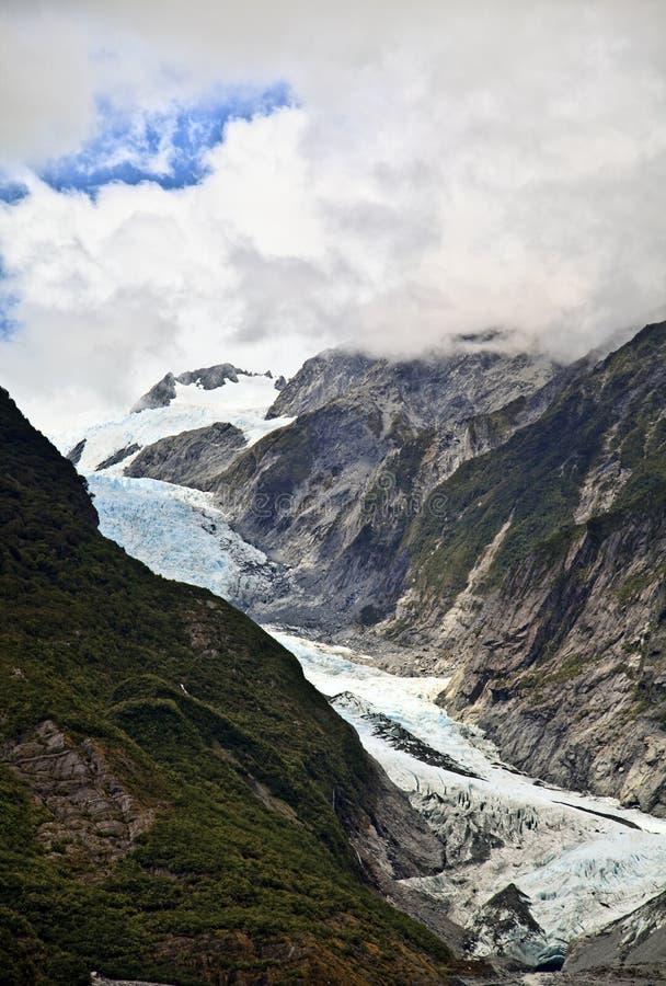 Glacier de Franz Joseph, Nouvelle Zélande photo libre de droits