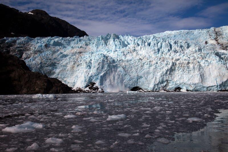 Glacier de Holgate photographie stock libre de droits