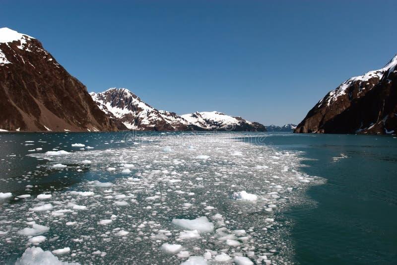 Glacier de Hubbard images libres de droits