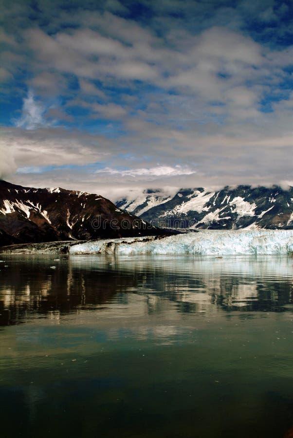 Glacier de hubbard de l'Alaska images libres de droits