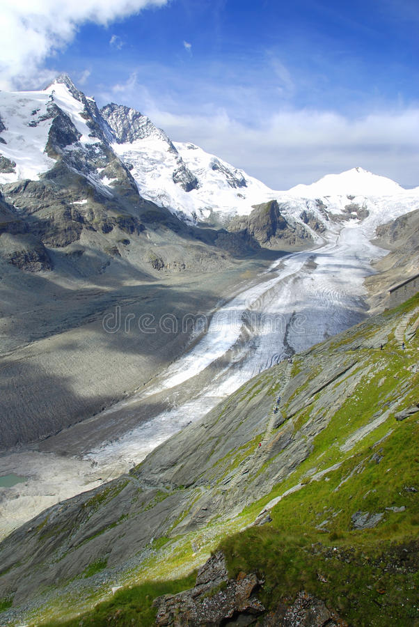 Glacier de Kaiser Franz photo libre de droits