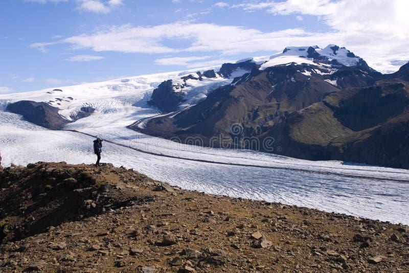 Glacier de l'Islande photos stock