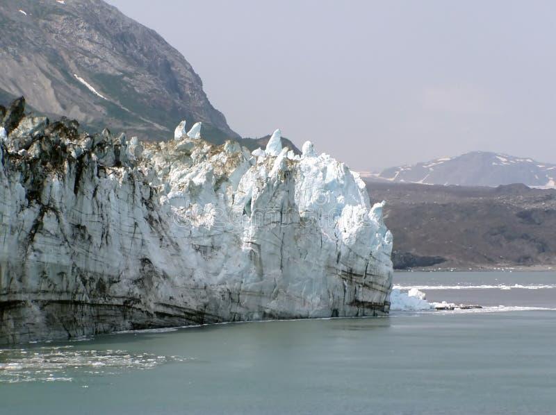 Glacier de Margerie - compartiment de glacier photographie stock libre de droits