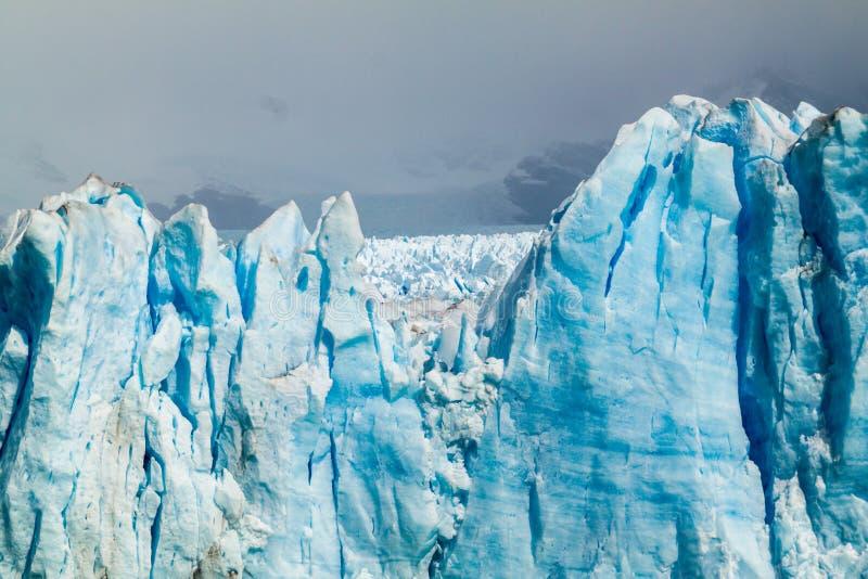 Glacier de Perito Moreno image libre de droits