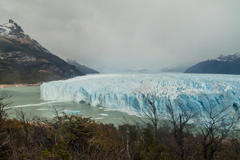 Glacier de Perito Moreno photo libre de droits