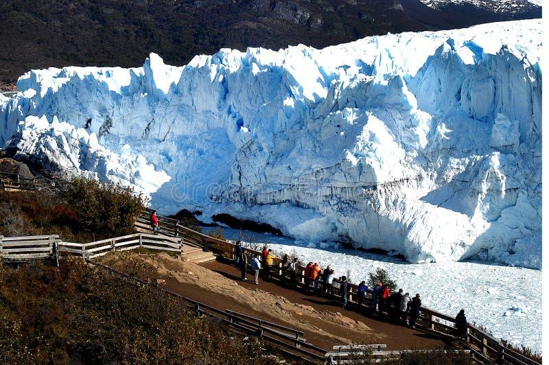 Glacier de Perito Moreno, Argentine image stock