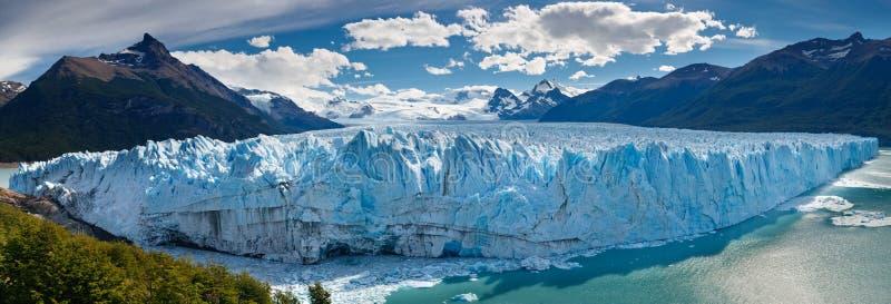Glacier de Perito Moreno, Patagonia, Argentine photo libre de droits