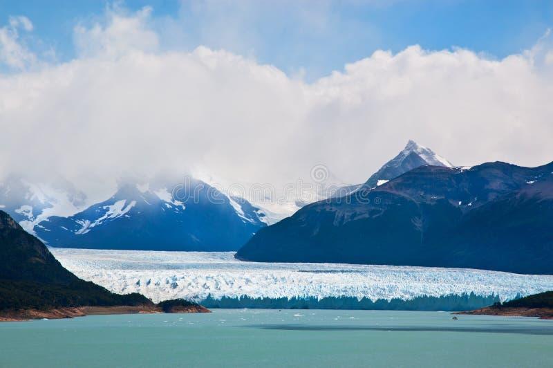 Glacier de Perito Moreno, patagonia, Argentine. photo stock