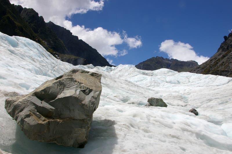 glacier de renard photographie stock libre de droits