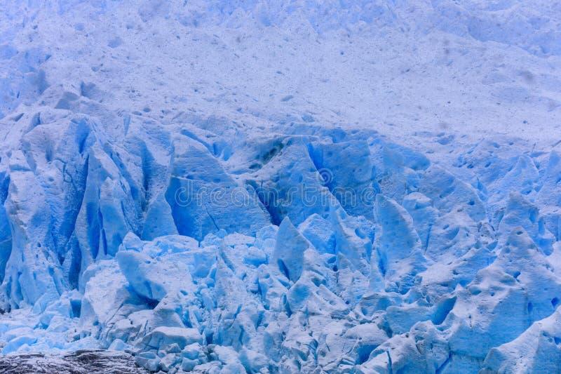 Glacier de Santa Ines dans le détroit de Magellan image stock