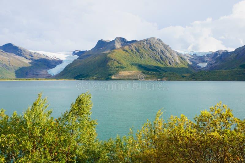 Glacier de Svartisen photos stock