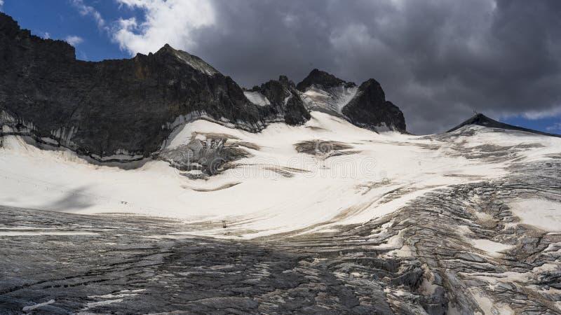 Glacier des Alpes françaises photos libres de droits
