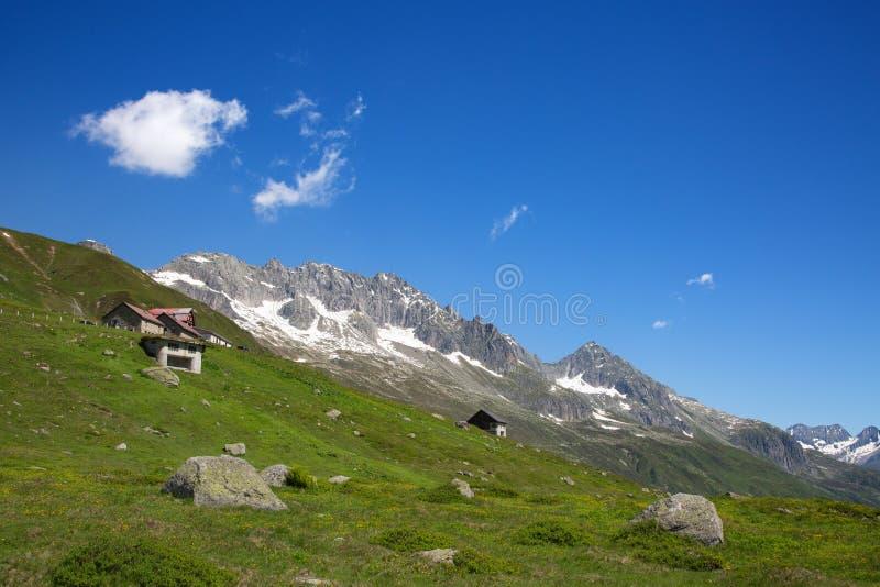 Glacier du Rhône images stock