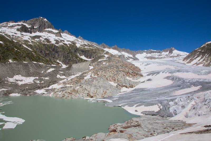 Glacier du Rhône photos stock