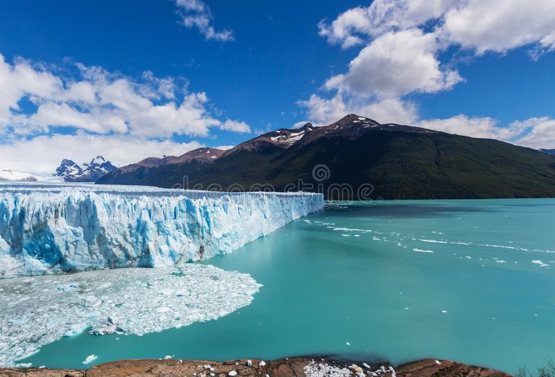 Glacier en Argentine photo stock