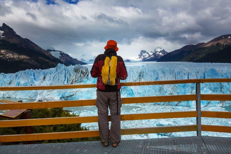 Glacier en Argentine photographie stock