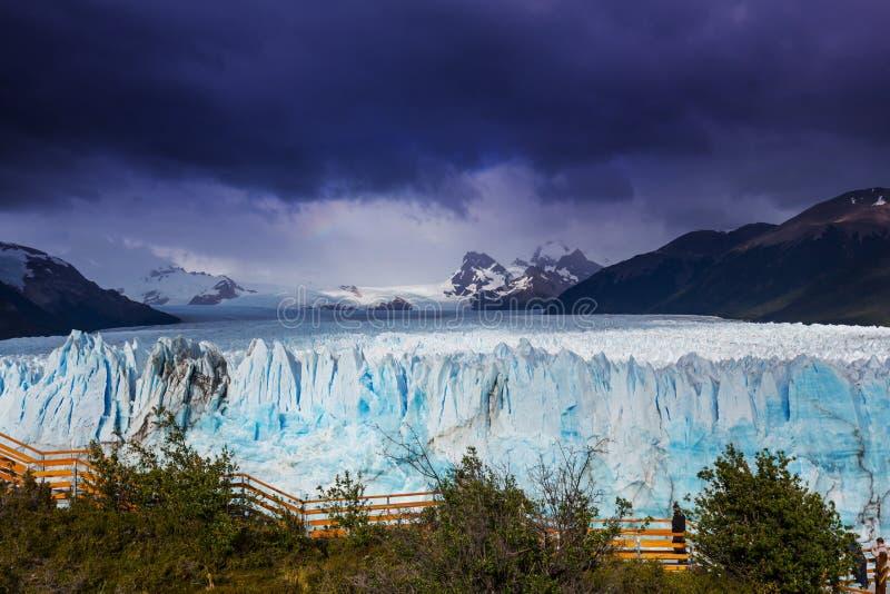 Glacier en Argentine image libre de droits