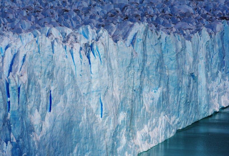 Glacier en Argentine photos stock