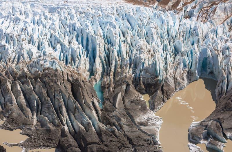 Glacier en Argentine images stock