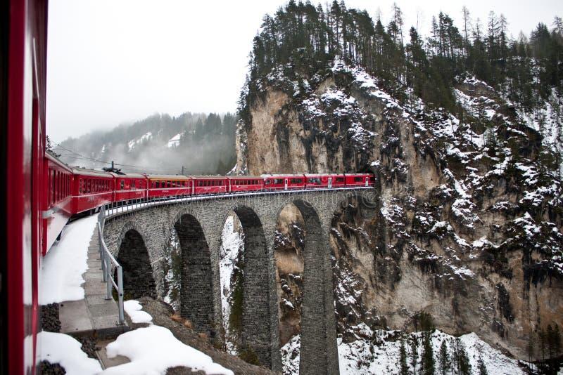 Glacier Express, switzerland royalty free stock photos