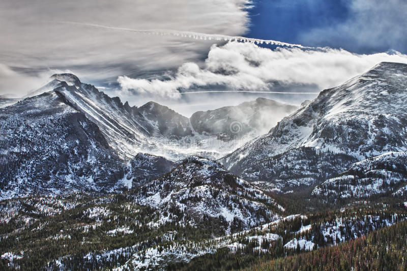 Download Glacier Gorge In Rocky Mountains National Park Stock Photo - Image: 20064854