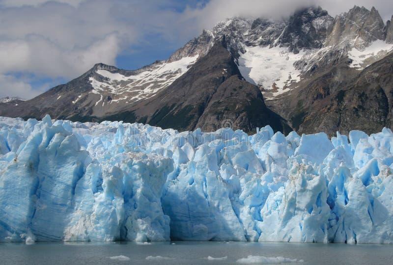 Glacier gris images stock