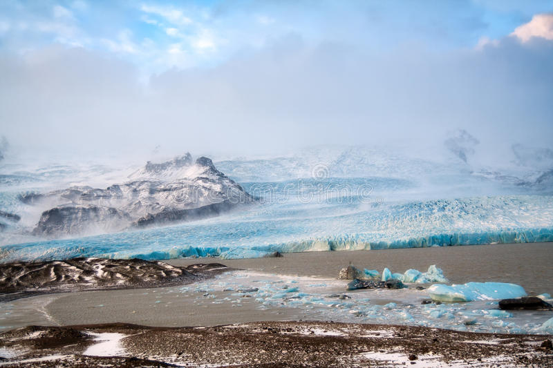 Glacier Iceland royalty free stock images
