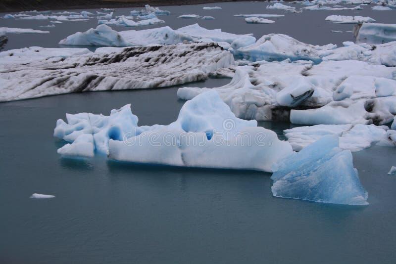 Glacier lagoon Jokulsarlon stock image
