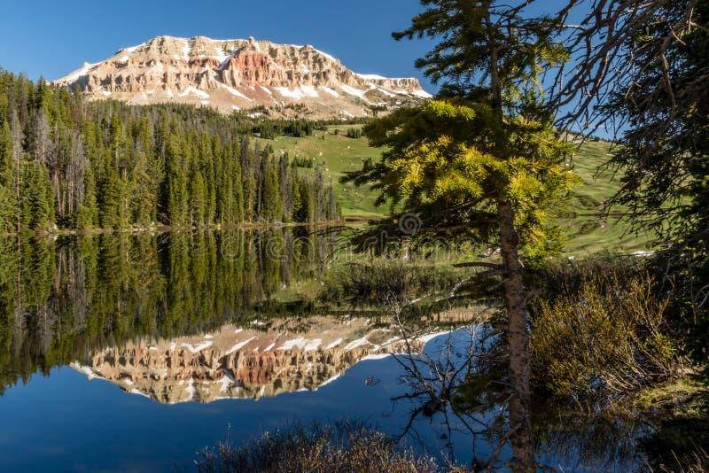 Beartooth Lake, Wyoming royalty free stock image
