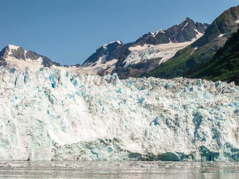 Columbia Glacier. Details of Columbia Glacier view cruise in Prince William Sound, Alaska, USA, America stock images