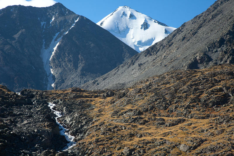 Download Glacier in the mountains stock photo. Image of summit - 23427450