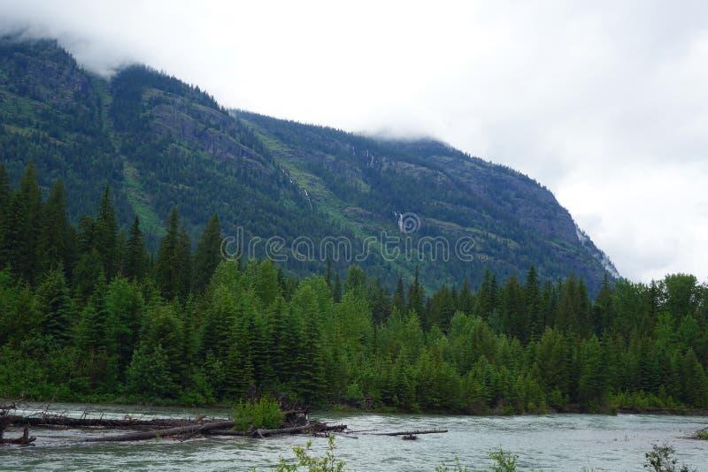 Glacier N P - Montana photographie stock libre de droits