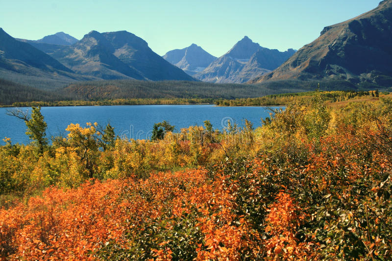 Glacier N.P. Montana royalty free stock images